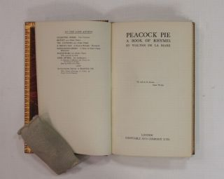 Peacock Pie: A Book of Rhymes.