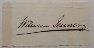 Clipped Signature. Sir William JENNER, 1815 - 1898