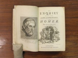 An Enquiry into the Life and Writings of Homer.