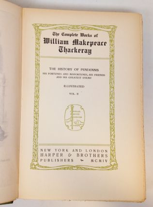 The Complete Works of William Makepeace Thackeray.