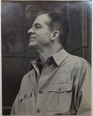 Inscribed Photograph. Dana ANDREWS, 1909 - 1992.