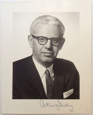 Signed Photograph. Arthur J. GOLDBERG, 1908 - 1990