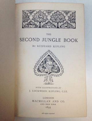 The Jungle Book AND The Second Jungle Book.