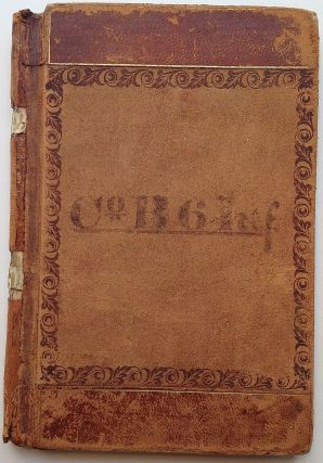 The Account Book of the B Company, 6th Infantry, United States Army. MANUSCRIPT ACCOUNT BOOK.