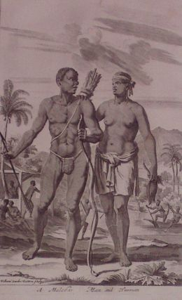 A Malabar Man and Woman. Johan NIEUHOFF