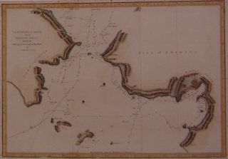 Chart of Norton Sound and of Bherings Strait made by the East Cape of Asia and the West Point of...