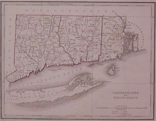 Connecticut and Rhode Island. Thomas Gamaliel BRADFORD.