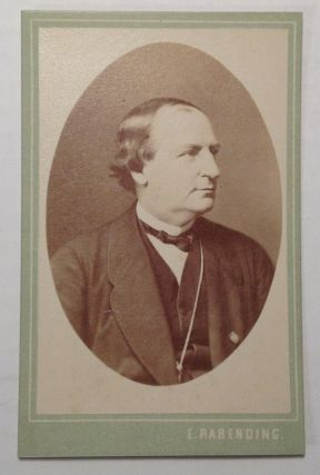 Inscribed Photocard. Franz Wilhelm ABT, 1819 - 1885