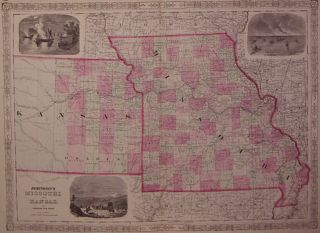 Johnson's Missouri and Kansas. JOHNSON, WARD