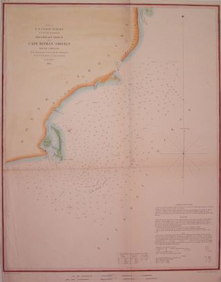 Preliminary Sketch of Cape Roman Shoals South Carolina. A. D. BACHE.