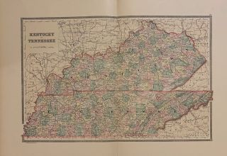 Kentucky and Tennessee. William M. BRADLEY.