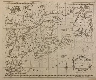 A New and Accurate Map of Quebec and its Boundaries: from a late Survey. Isaac Taylor HINTON,...