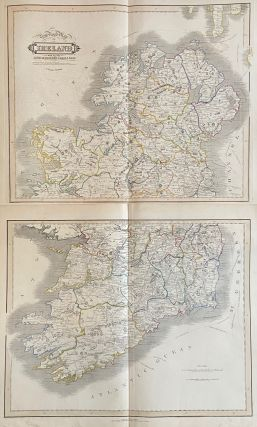 New Road Map of Ireland with All the Lines of Railway, Canals &c.&c. William LIZARS.