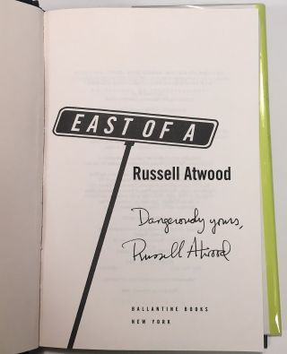 East of A. Russell ATWOOD