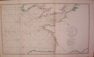 A Chart of the British Channel and the Bay of Biscay, with a Part of the North Sea, and the...