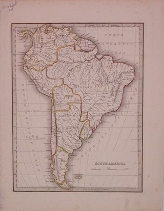 South America. Thomas Gamaliel BRADFORD