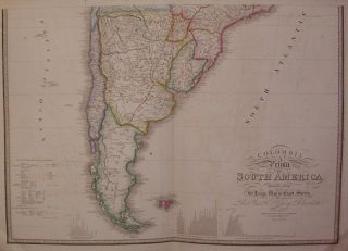 Colombia Prima or South America drawn from the Large Map in Eight Sheets