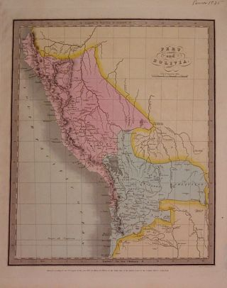 Peru and Bolivia. David H. BURR