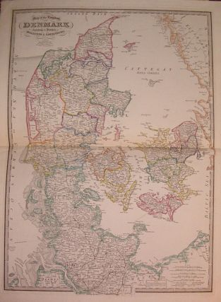 Map of the Kingdom of Denmark including the Dutchies of Holstein & Lauenburg. James WYLD
