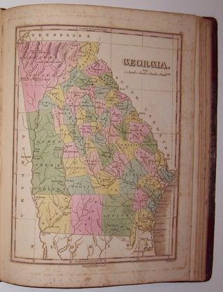A New General Atlas, Comprising a Complete Set of Maps, representing the Grand Divisions of the Globe, Together with the several Empires, Kingdoms and States in the World. Compiled from the Best Authorities and corrected by the Most Recent Discoveries, Philadelphia.