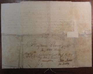Autographed Partly Printed Document Signed. William MOULTRIE, 1730 - 1805