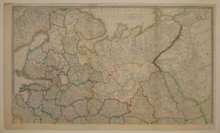 The Russian Dominions in Europe, drawn from the latest Maps, printed by the Academy of Sciences,...