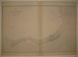 Black Sea Sheet VII: C. Yasun to Fort Anakria. UNKNOWN.