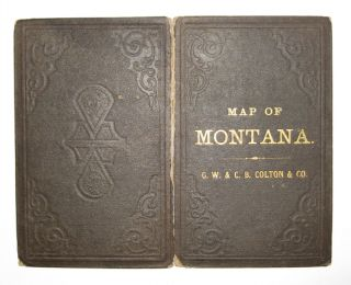 Map of the Territory of Montana with Portions of the Adjoining Territories