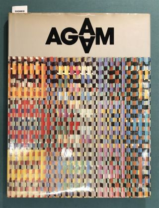 Homage to Yaacov Agam.; Solomon R. Guggenheim Museum Exhibition, 1980. Special issue of the XXe Siecle Review.