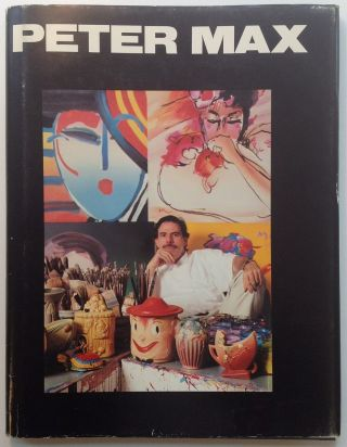 "Inscribed Book titled ""Peter Max"""