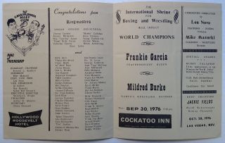 Signed induction program of the World Featherweight Champion