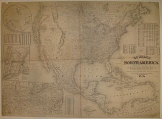 Cooper's North America: British Provinces, Mexico, Central America, W. India Is.&c. Exhibiting...