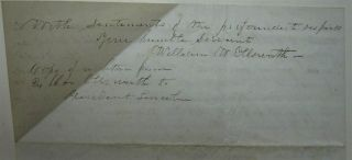 Retained Copy of a Letter to Abraham Lincoln