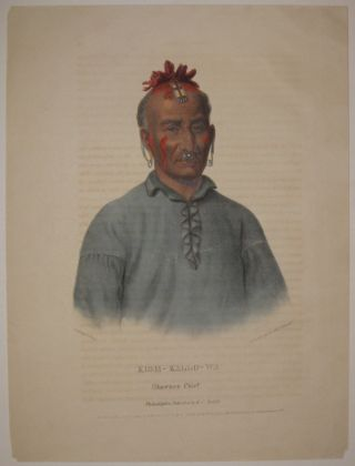 Kish-Kallo-Wa: Shawnee Chief. Thomas L. MCKENNEY, James HALL
