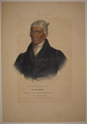 Ca-Ta-He-Cas-Sa: Black Hoof Principal Chief of the Shawannes. Thomas L. MCKENNEY, James HALL