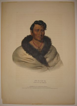 Ong Pa Ton Ga: Chief Of The Omahas. Thomas L. MCKENNEY, James HALL