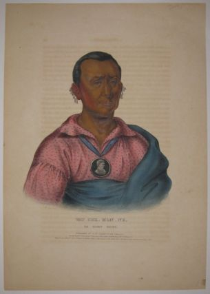 Wat_Che_Mon_Ne, An Ioway Chief. Thomas L. MCKENNEY, James HALL