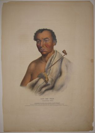 On-Ge-Wae. A Chippewa Chief. Thomas L. MCKENNEY, James HALL
