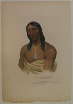A-Na-Cam-E-Gish-Ca: A Chippeway Chief. Thomas L. MCKENNEY, James HALL