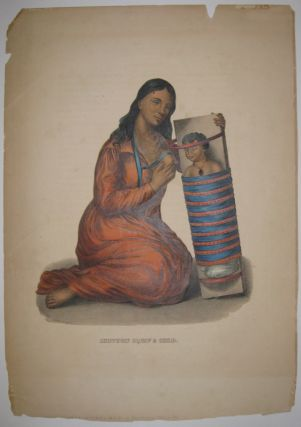 Chippeway Squaw & Child. Thomas L. MCKENNEY, James HALL
