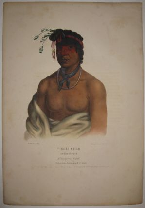 Wesh Cubb or the Sweet: A Chippeway Chief. Thomas L. MCKENNEY, James HALL