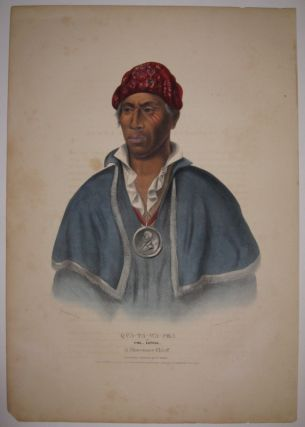 Qua-Ta-Wa-Pea or Col. Lewis: A Shawanee Chief. Thomas L. MCKENNEY, James HALL