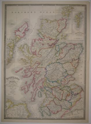 Scotland with its Islands. James WYLD