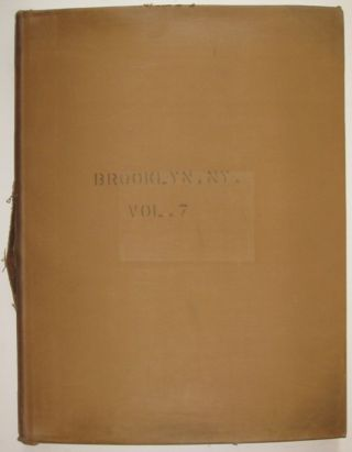 Vol. 7 of 29 Atlases of Insurance Maps for Brooklyn. Eastern Parkway