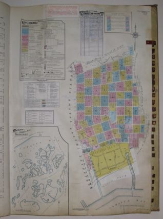 Vol. 8 of 29 Atlases of Insurance Maps for Brooklyn. East New York. SANBORN MAP COMPANY.