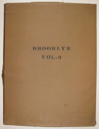 Vol. 9 of 29 Atlases of Insurance Maps for Brooklyn. East Williamsburg & Bushwick
