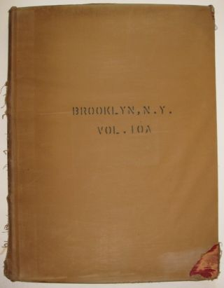 Vol. 10A of 29 Atlases of Insurance Maps for Brooklyn. Kensington, South Prospect Park & Borough Park