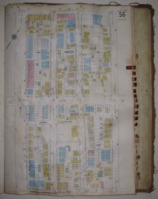 Vol. 17 of 29 Atlases of Insurance Maps for Brooklyn. Canarsie. SANBORN MAP COMPANY