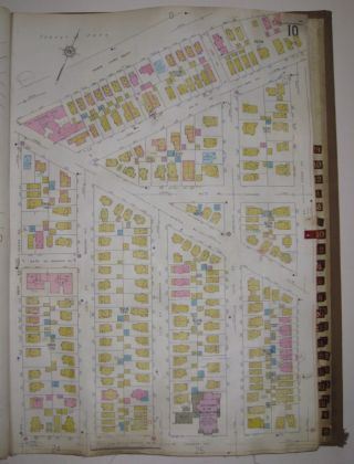 Vol. 4 of 29 Atlases of Insurance Maps for Queens. Woodhaven and Richmond Hill. SANBORN MAP COMPANY