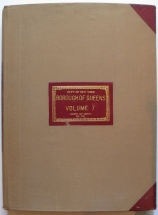 Vol. 7 of 29 Atlases of Insurance Maps for Queens. Hollis & Jamaica Estates